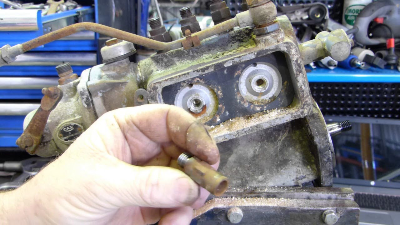 How To Dismantle And Reseal Your Ferguson Tef20 Injection Pump Diagram Further Cav Fuel On