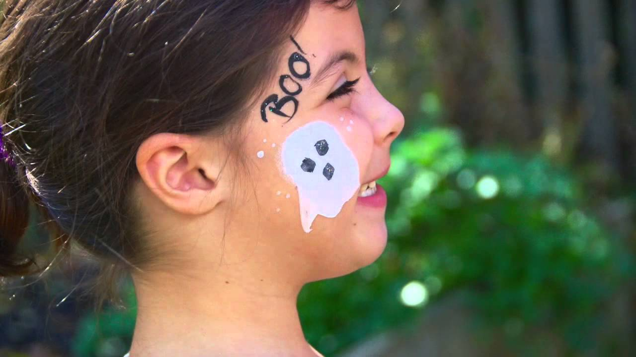 quick + easy halloween face paint ideas - youtube