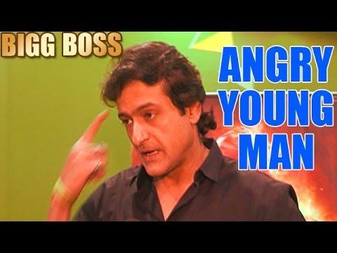 "Bigg Boss - 23rd December 2013 : Armaan Kohli talks about his ""Angry Young Man"" image"