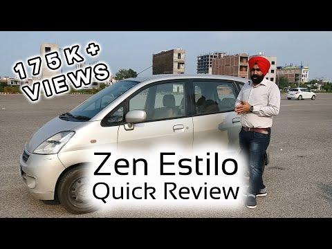 Zen Estilo Petrol 2008 | Quick Review | WagonR's Elder Cousin | Spare Wheel