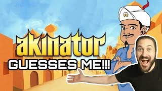 CAN AKINATOR GUESS ME???