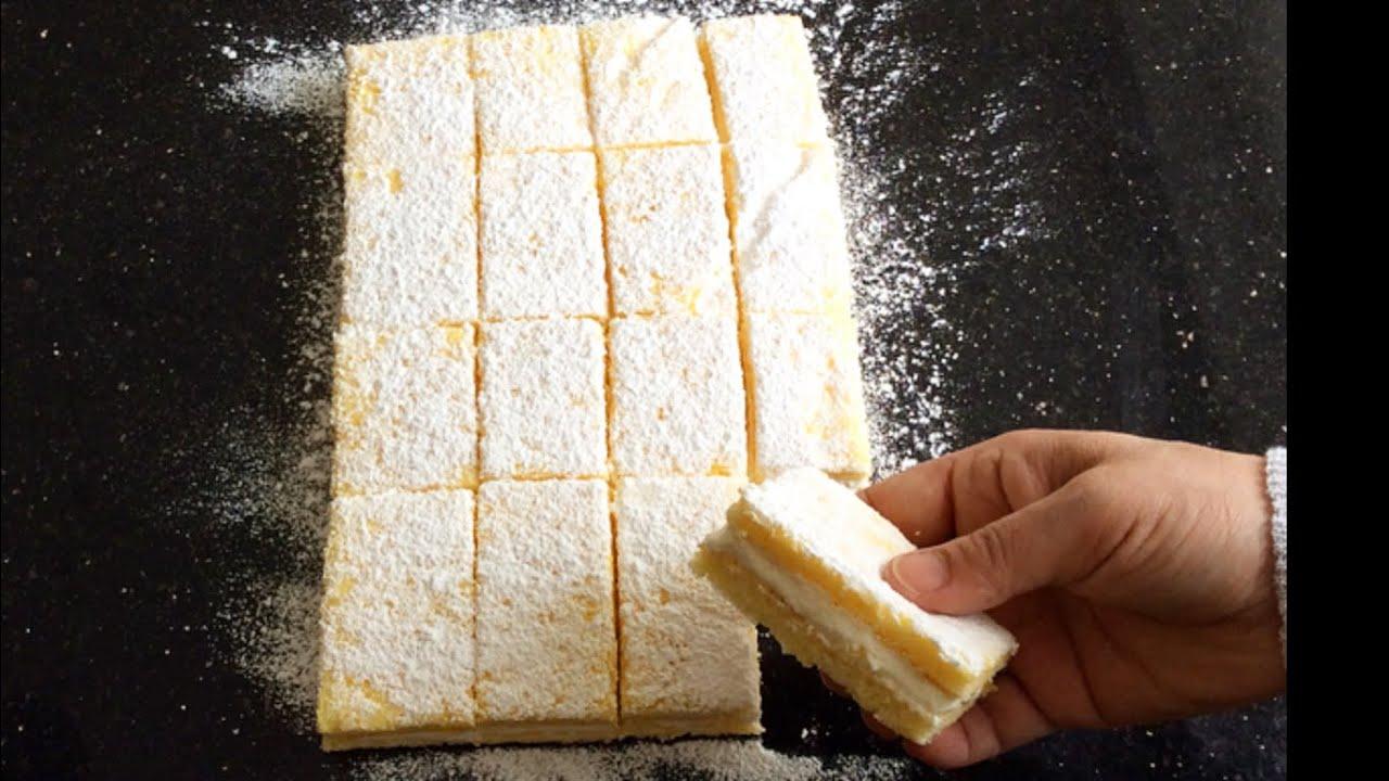 Limonlu Süt Dilimi Tarifi