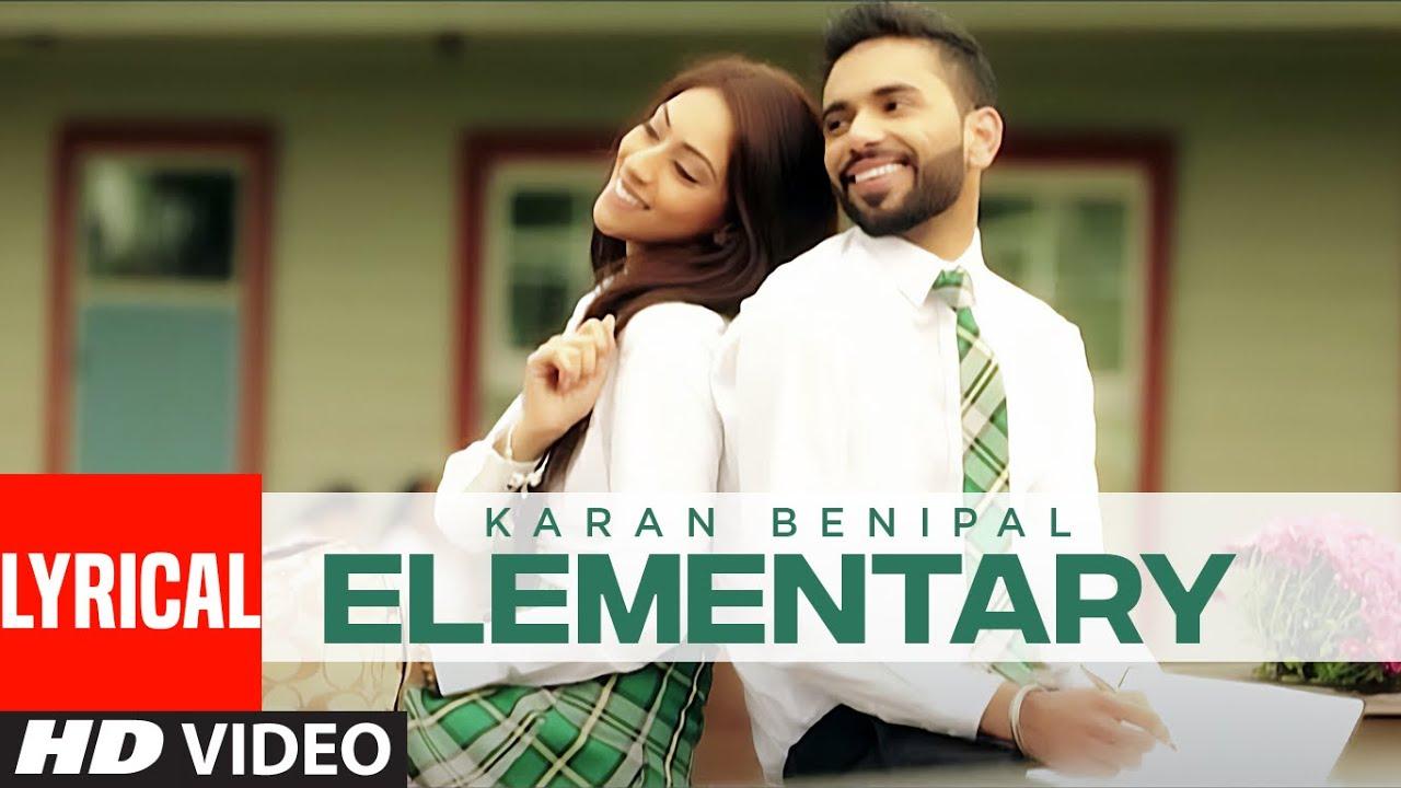 Elementary (Official Lyrical Video) Karan Benipal   Happy Raikoti   Punjabi Songs   T-Series