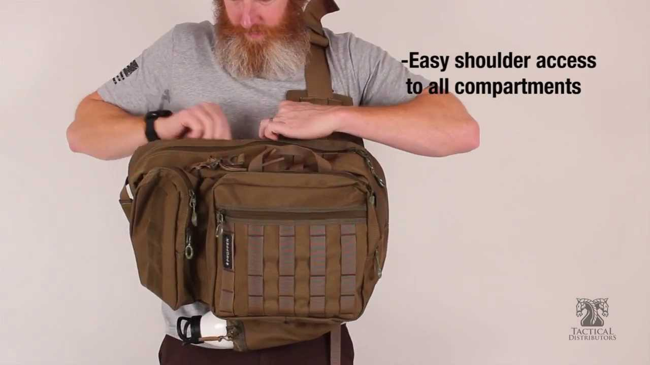 Propper Bias Sling Backpack | TD Product DEMO - YouTube