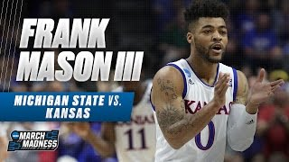 Michigan State vs. Kansas: Frank Mason III scores 20 as Jayhawks advance