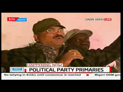 Kesses MP-Dr Swarup Kiprop Mishra retains seat in a hotly contested Jubilee primaries