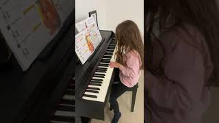 Mia plays Mockingbird