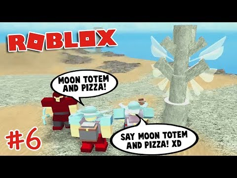 FINDING THE MOON TOTEM in Booga Booga | Roblox
