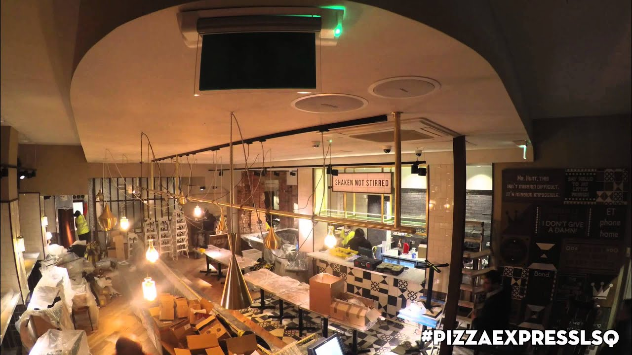 Time Lapse Pizzaexpress Leicester Square