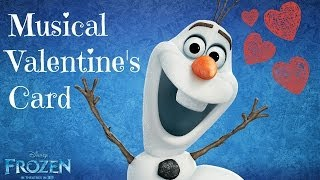 Valentine's Card Idea I Disney's Frozen ♡ Thumbnail