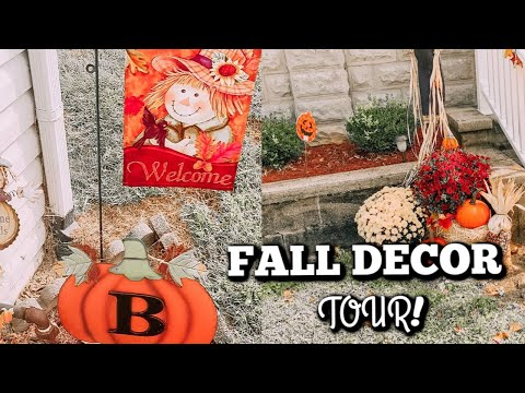 FALL DECOR HOUSE TOUR | TOUR MY CHILDHOOD HOME | FALL 2019