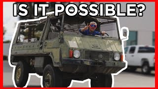 homepage tile video photo for Can We EV CONVERT a 1971 Pinzgauer?