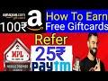 Play Mobile Games Earn PaytmCash Refer - make Moneyonline how to earn free Amazon Giftcards Flipkart