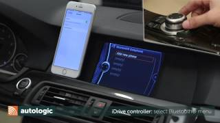 BMW 5 Series F10   Pairing a Telephone HD