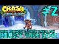 Collect Them Gems! - Crash Bandicoot 2 HD #2 [PS4, 2017] (BLIND RUN - N. Sane Trilogy)