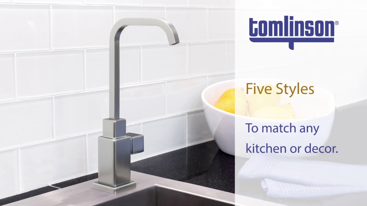 Reverse Osmosis Faucets from Tomlinson Industries - YouTube