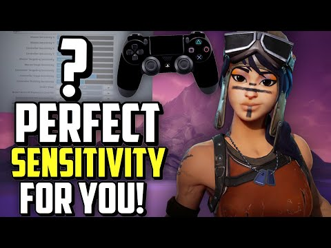 How To Find Your PERFECT Sensitivity on Controller Fortnite! (Sensitivity - Xbox + PS4)