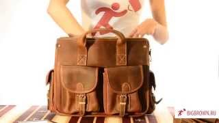 Кожаная сумка Buccio Bigbrown(Кожаные мужские сумки http://bigbrown.ru Купить эту сумку - http://bigbrown.ru/rasprodaja/7106R Распродажа кожаных сумок - http://bigbrown.ru/..., 2014-06-01T18:46:59.000Z)