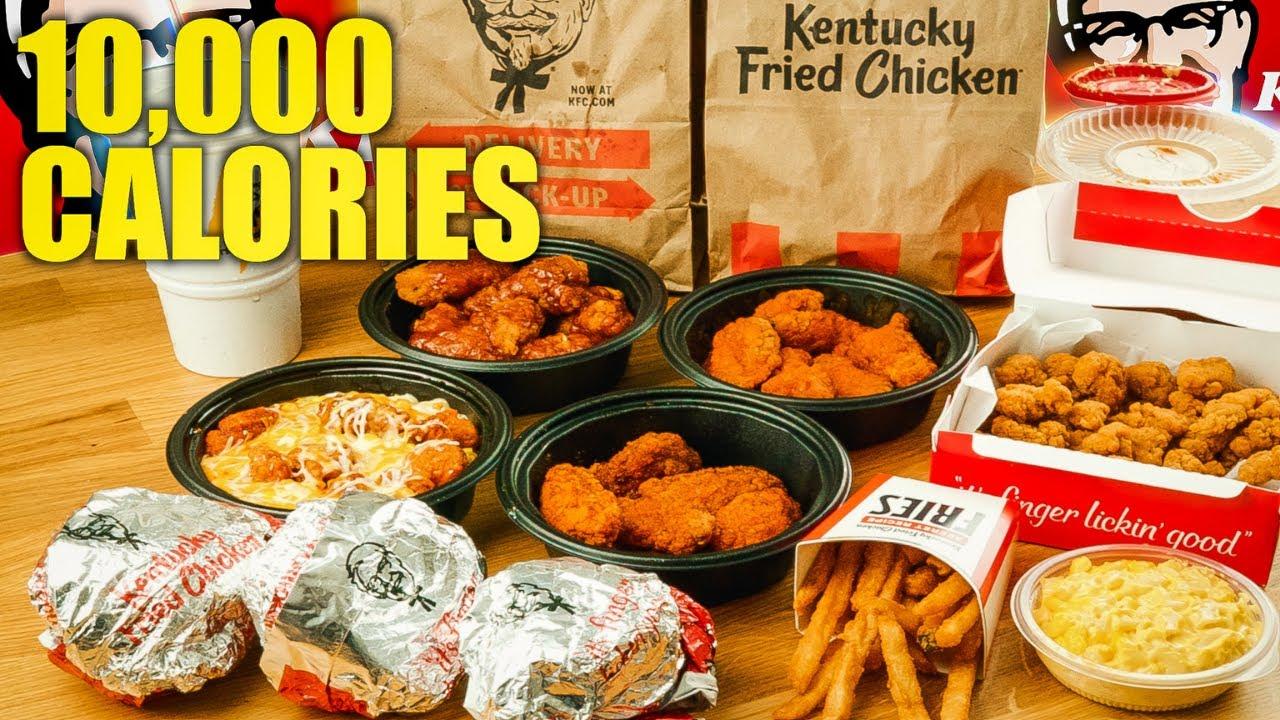10000+ Calories of KFC   KFC Chicken Sandwiches Are...