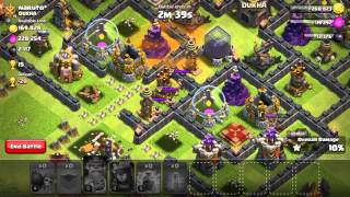 Nur mit Mauerbrechern angreifen und 1 Stern clash of clans