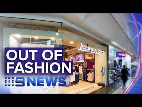 Jeanswest Put Into Voluntary Administration   Nine News Australia