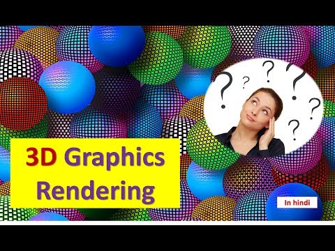 3D Graphics Rendering For Beginners in HINDI