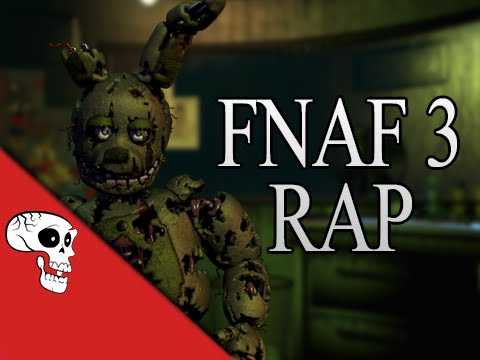 "Thumbnail: Five Nights at Freddy's 3 Rap by JT Machinima - ""Another Five Nights"""