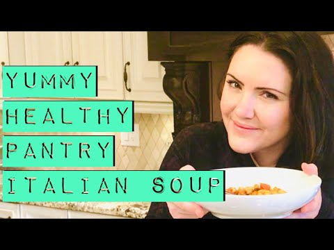 Italian Soup-Pasta Fagioli-Plant based recipe-Vegan soup-Healthy dinner-Recipes kids love-Pasta soup