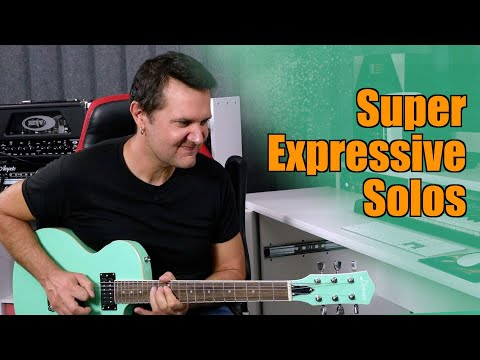Make Your Guitar Solos SUPER EXPRESSIVE Under 5 Minutes