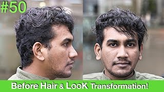 Hair Makeover/Hair Transformation 2018 | Haircut | Hair Straightening | Hairstyle for Men UAE/USA