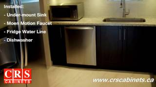 kitchen cabinets by crs cabinets chocolate pear door style 1360