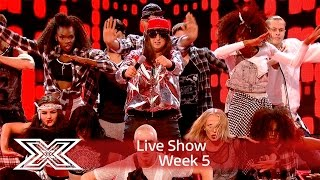 Honey G is gonna make you Jump with Kriss Kross cover | Live Shows Week 5 | The X Factor UK 2016