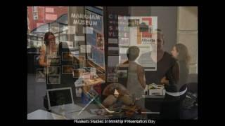 Faculty of Information (UofT) Museum Studies Internship Day - October 1, 2010