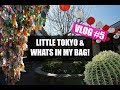 Little Tokyo & What's in my makeup bag? ♥ LAZYPANDAH