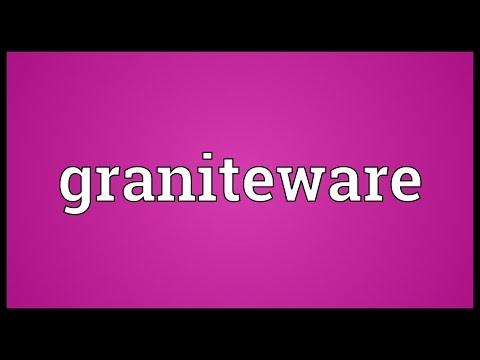 Header of graniteware