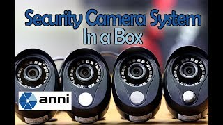 Unboxing, Setup & Review of Anni's All-In-One (4 Cameras + DVR) Security System in a Box