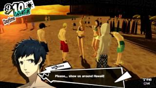 Video Persona 5 -   Hanging out with Ryuji at Hawaii Trip! HQ download MP3, 3GP, MP4, WEBM, AVI, FLV Agustus 2017
