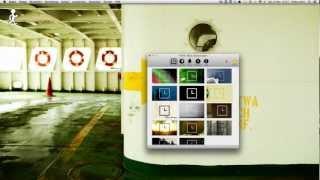 Ticke-Tack - Die stylische Uhrzeit für den Mac