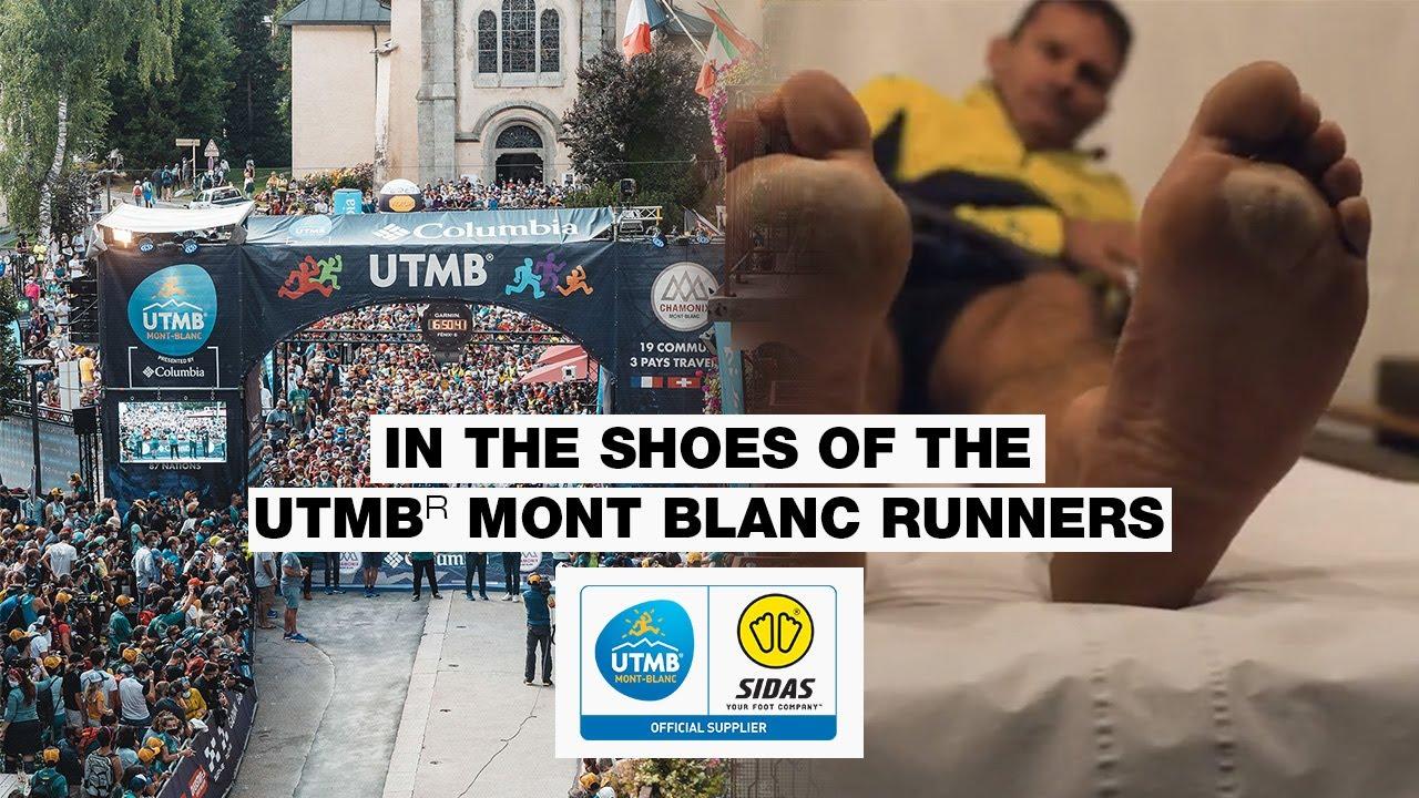 Dans les chaussures des coureurs de l'UTMB® Mont Blanc   Les pieds des ultra-traileurs