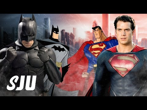 Is Batman Really More Relevant Than Superman? | SJU