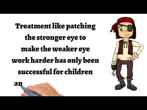 Amblyopia treatment with Lazy Eye Games (advanced treatment, lazy eye, strabismus, patching)