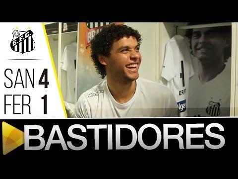 Santos 4 x 1 Ferroviária | BASTIDORES | Paulistão (31/03/16)