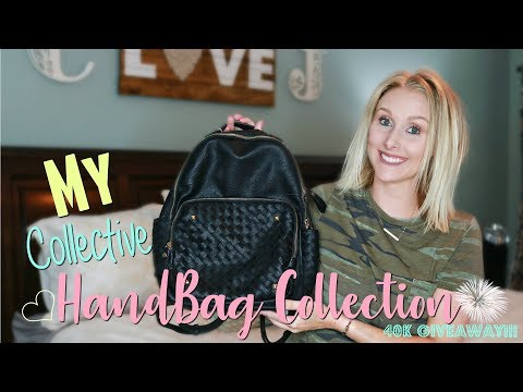 My HandBag Collection 2018-Affordable & Designer- 40K SUBSCRIBER GIVEAWAY!