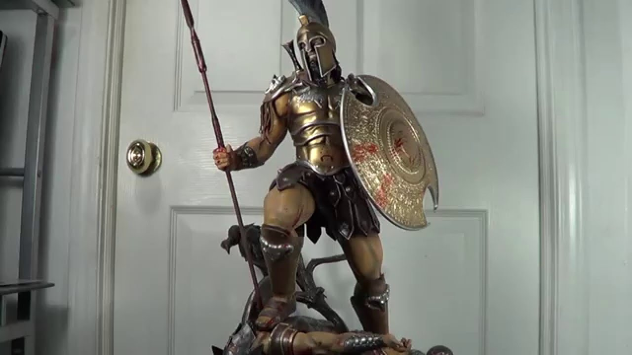 ARH Studios Ares God of War Gold Armor Edition Statue ...