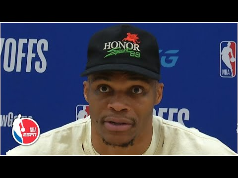 Russell Westbrook addresses shouting match with Rajon Rondo's brother | 2020 NBA Playoffs