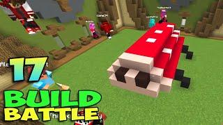 ч.17 Minecraft Build Battle - Божья Коровка и Мужик с Лопатой (lol)