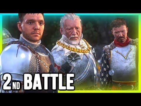 Kingdom Come Deliverance - 2nd Battle (Combat Gameplay Walkthrough)!