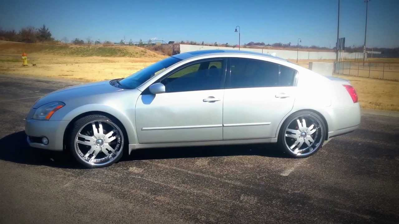 06 Nissan Maxima On 22 S Youtube