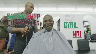 Barber Shop Chronicles | Cyril Nri at Peter's barber shop