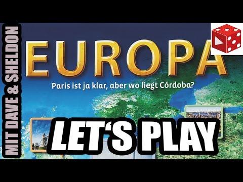 Europa: Paris ist ja klar, aber wo liegt Cordoba (Kosmos 2016) Let's Play mit Dave & Sheldon